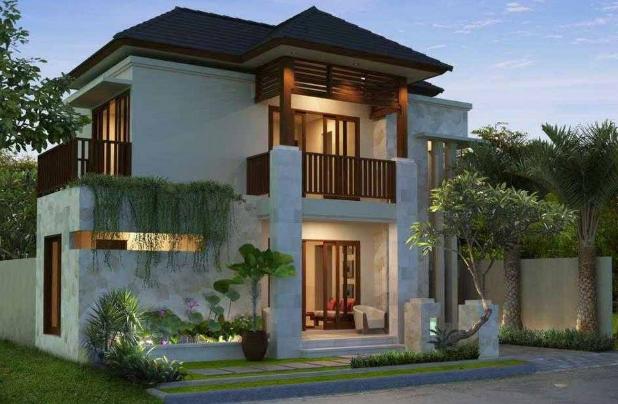 foto rumah mewah 1 dan 2 lantai di indonesia 2017 foto