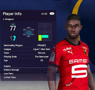 PES 2021 Faces Joris Gnagnon