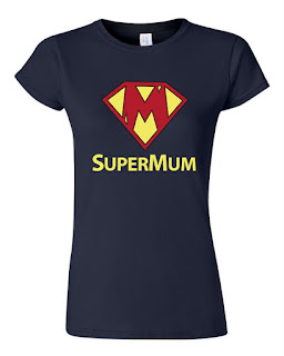 mothersday gift super mum tee