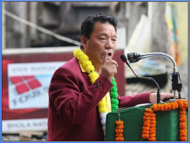 Bimal Gurung President Gorkha Janmukti Morcha