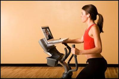 Treadmill Laptop Holder
