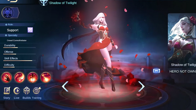 Skill Karakter Carmilla di Mobile Legends