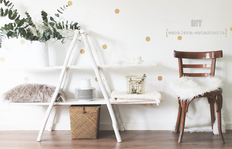 Petitecandela blog de decoraci n diy dise o y muchas - Estanterias en escalera ...