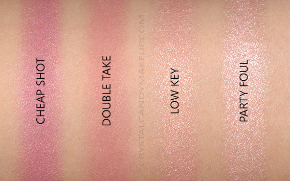 Urban Decay Backtalk Eye Face Palette Review Blushes Highlighters Swatches