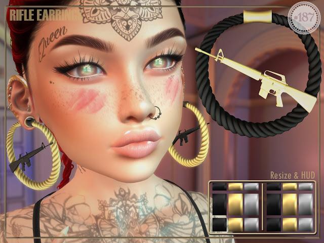 Rifle Earrings @ Flourish