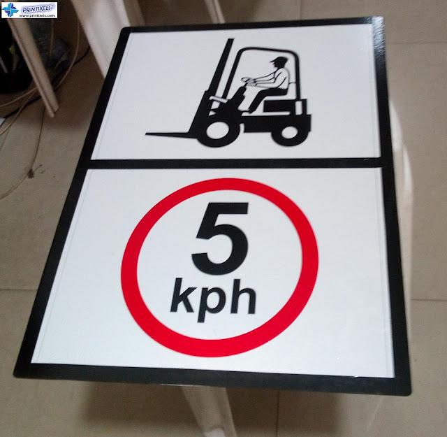 5kph Speed Limit Forklift Signage Philippines