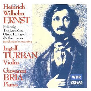 Heinrich Wilhelm Ernst: Music For Solo Violin