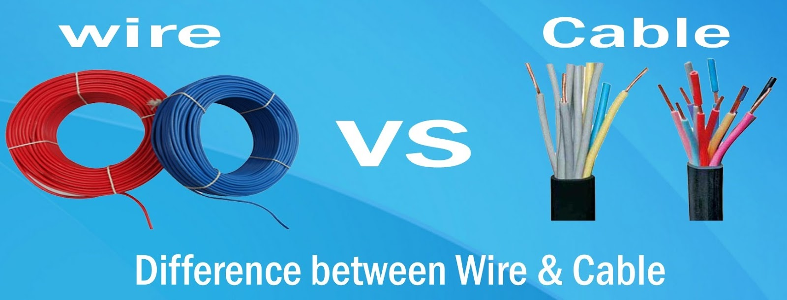Arindam Bhadra: Difference between Cable and Wire
