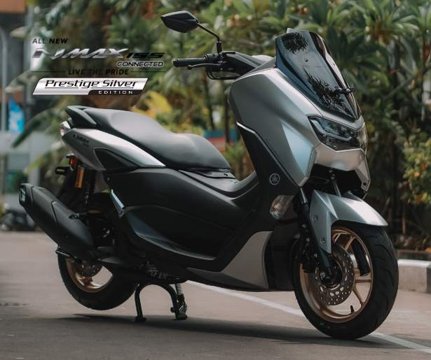 Warna Prestige Silver All New Nmax 155 Connected