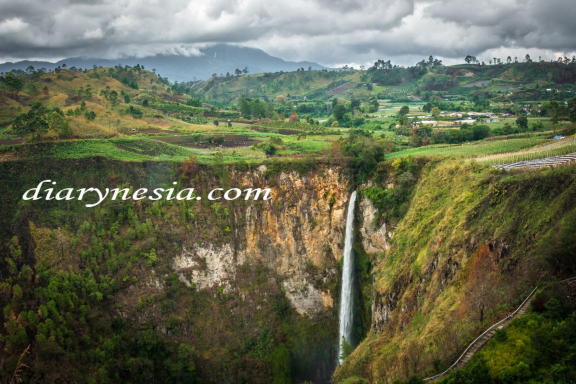 Travelling to Lake Toba in North Sumatera Indonesia