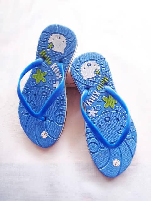 Pabrik Sandal Karakter Hellokity Lucu 4000an Perpasang