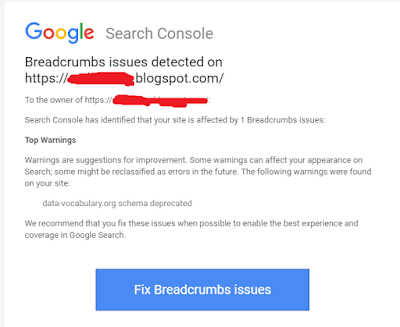 Breadcrumb Issue