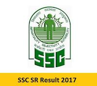 SSC SR Result