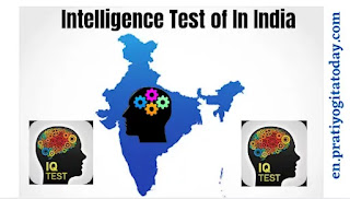 History of Intelligence Test in India