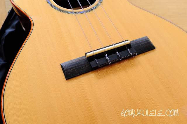 Kai KTI-700 Tenor Ukulele bridge
