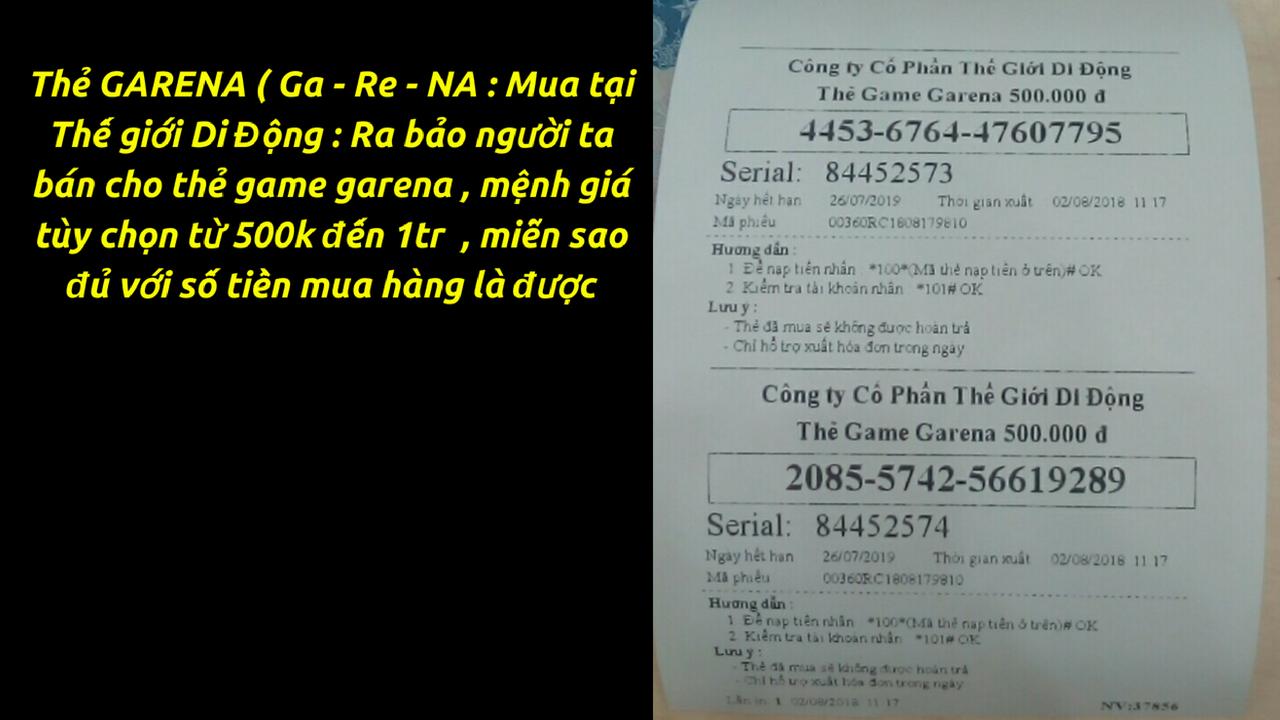 Trang Ch Garena 500000 Qu Khch Ra I L Mua Th Mnh Gi 500k Sao Cho Bng Vi S Tin T Hng