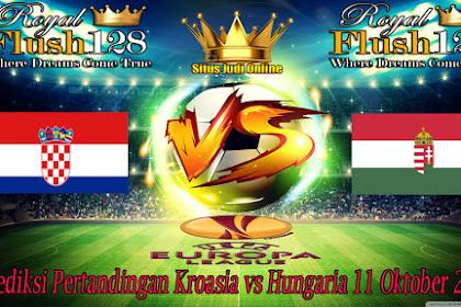 Prediksi Pertandingan Kroasia vs Hungaria 11 Oktober 2019