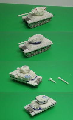 M10 Achilles, M10 Wolverine, M3 Lee and Ram Mk.II