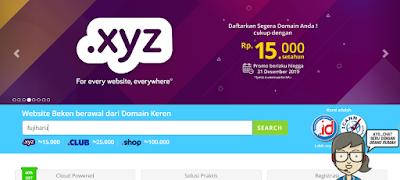 Pengalaman Mengganti Blogspot ke Domain Sendiri dengan Rumahweb