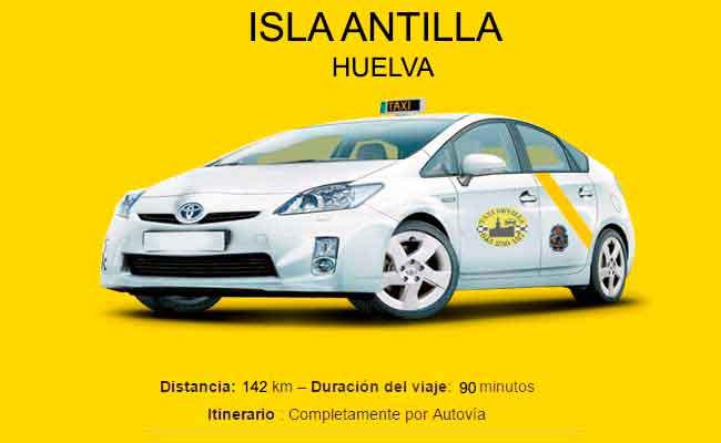Precio Taxi Sevilla-Isla Antilla