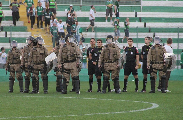 Falta respeito no futebol brasileiro