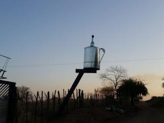 Paraibano inventa lamparina gigante e pode ser destaque na imprensa nacional
