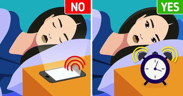 نصائح لعدم استخدام الهواتف كمنبه