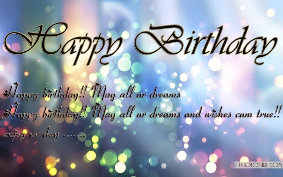 Happy Birthday Image Quotes