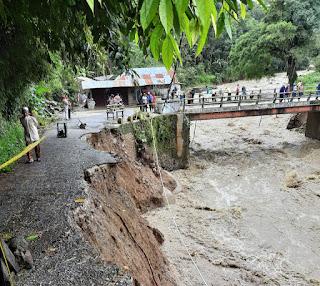 Banjir dan Longsor Hantam Kabupaten Solok, Sumbar