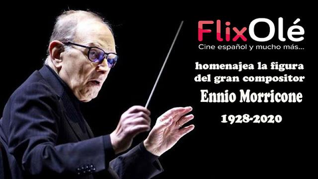 FlixOlé homenajea la figura de Ennio Morricone