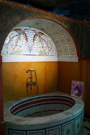 vienna vienne otto wagner villa ernst fuchs museum hütteldorf penzing roman bath bains romains