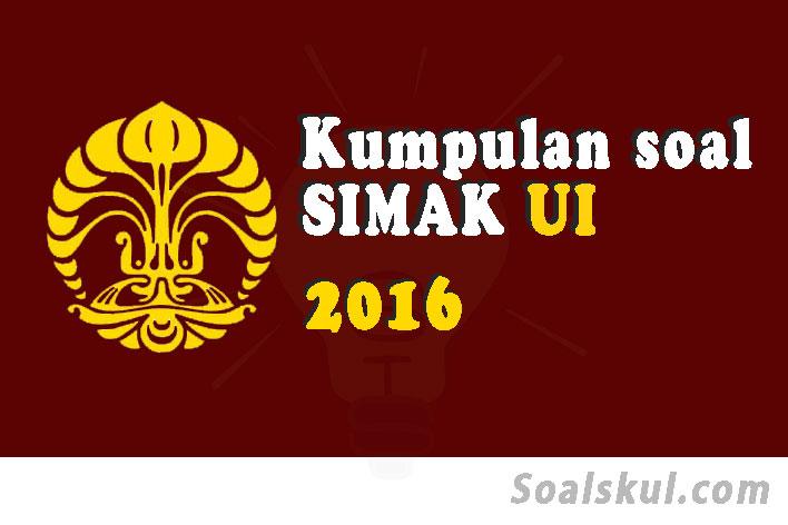 Download Soal Dan Pembahasan Simak Ui 2016 Soalskul