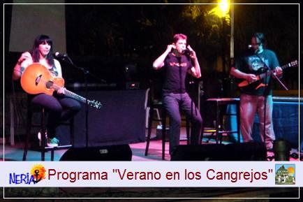 El Programa Verano en los Cangrejos incluye actuaciones y cine para todos los públicos al aire libre