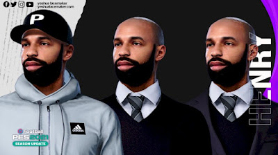 PES 2021 Faces Thierry Henry by Yeshua