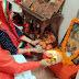 #राकेश श्रीवास्तव ने पत्नी किरन के साथ की चित्रगुप्त पूजा#