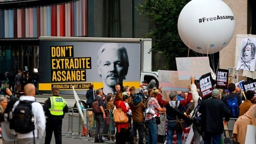 WikiLeaks founder is fighting his extradition to the United States
