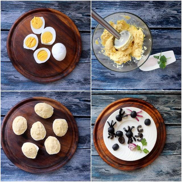 recipe process photo collage.