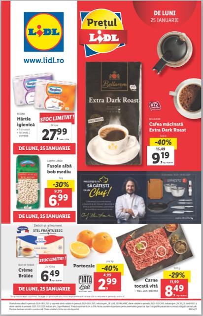 LIDL Catalog - Brosura 25-31.01 2021→ Aktiveaza Cupoanele