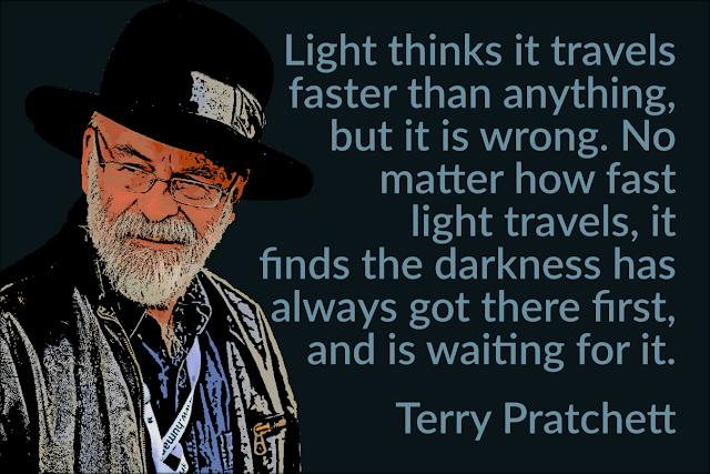 Terry Pratchett- The Light Fantastic