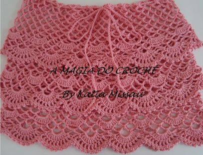 Mini Falda a Crochet