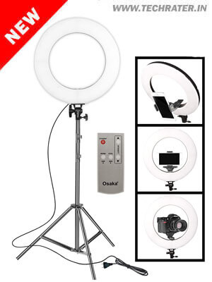 LED Ring Light for Mobile & Camera (18 inches)