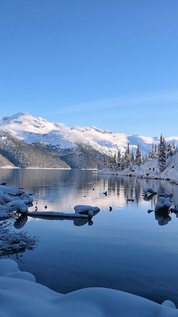 Wallpaper HD Winter Sky Landscape