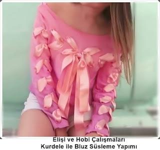 Bluz Süsleme - Moda Tasarım