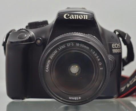 harga canon eos 1100d bekas