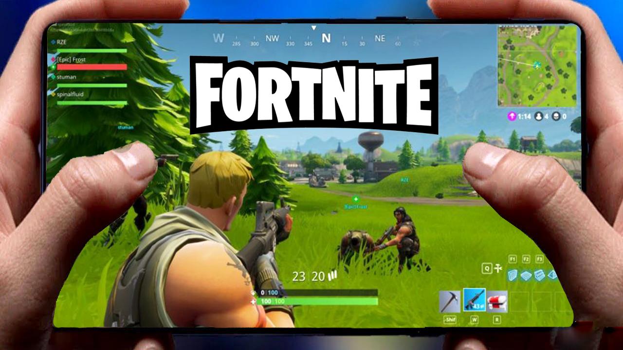 تحميل لعبة فورتنايت fortnite للأجهزة ضعيفة للاندرويد HD+