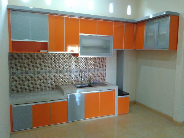 The Orange Kitchen set