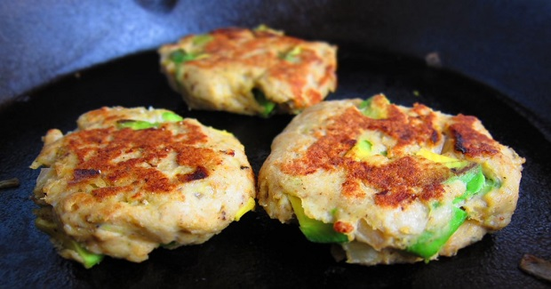 Avocado Chicken Burgers Recipe