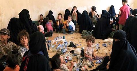600 ژن و زارۆكێن چەكدارێن داعش دێ ڕەوانەی عێراقێ هێنە كرن