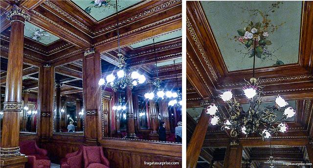 Sala dos Espelhos, Teatro Massimo de Palermo, Sicília