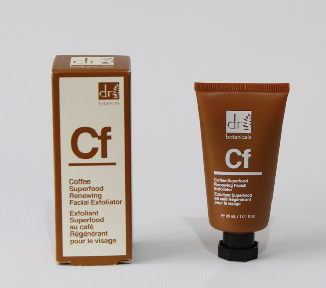 Coffee Superfodd Renewing exfoliante Dr. Botanicals
